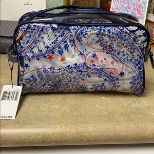 Vera Bradley Clear Cosmetic Bag